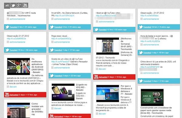 Streamrr un servicio para administrar varias redes sociales