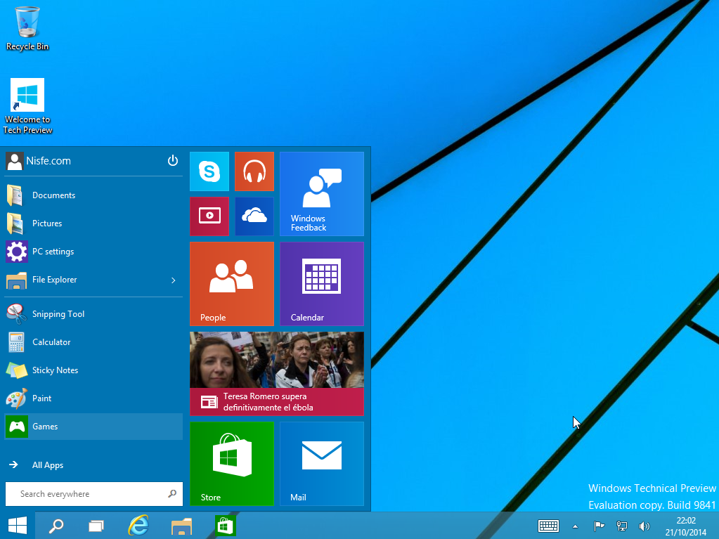 Como instalar Windows 10 Technical Preview