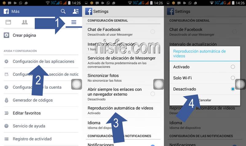 Cómo desactivar la reproducción automática de anuncios en video de Facebook