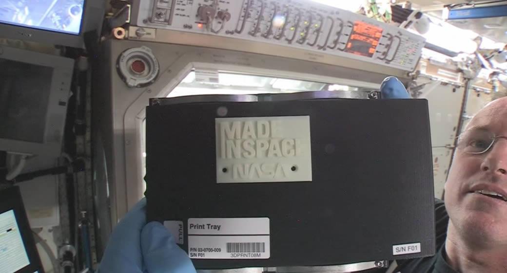 La NASA consigue fabricar un objeto con impresora 3D en el espacio [video]