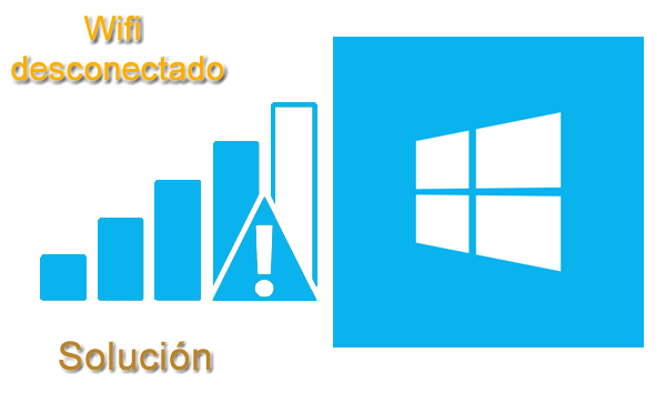 Como solucionar WiFi desconectado en Windows 8