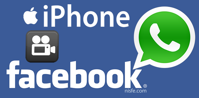 Como enviar videos de WhatsApp por Facebook desde un iPhone