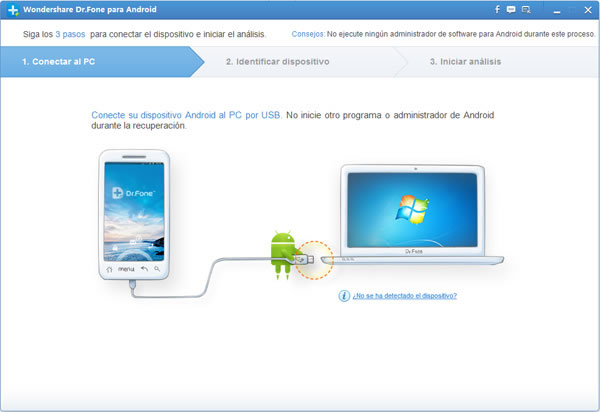 WonderShare DrFone, recuperar fotos, sms, contactos y videos de iPhone y Android