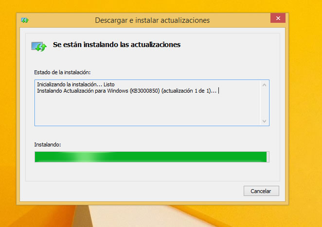 0x80073712 Error Windows Update, solución