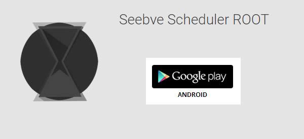 Seebye Scheduler ROOT