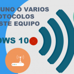 Faltan uno o varios protocolos en este equipo Windows 10, solución